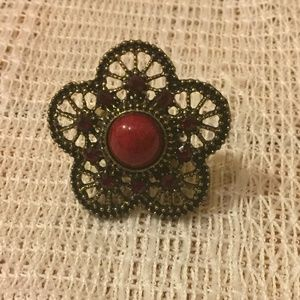 3 For $15 Adjustable Flower Ring